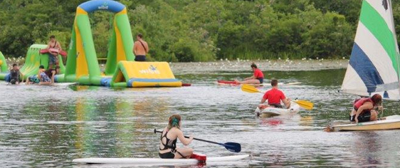 Boys & Girls Coed Summer Camps - rafting & canoes
