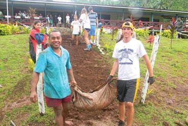 Summer community service programs
