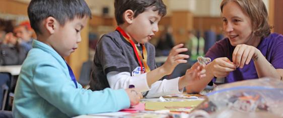 Community Service with Children