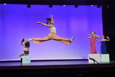 Visual Arts and dance camp
