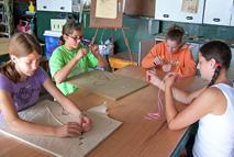 Girls Summer Camps indoor activity
