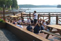 Summer camp activities meeting