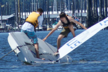 Learn Sailing safety techniques