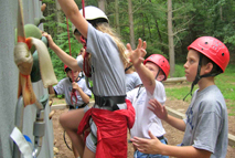Learning repelling at summer camp