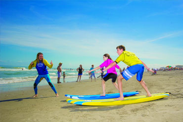 Learn to surf this summer at surf camp
