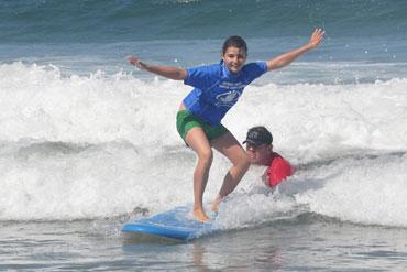 professional surf instruction